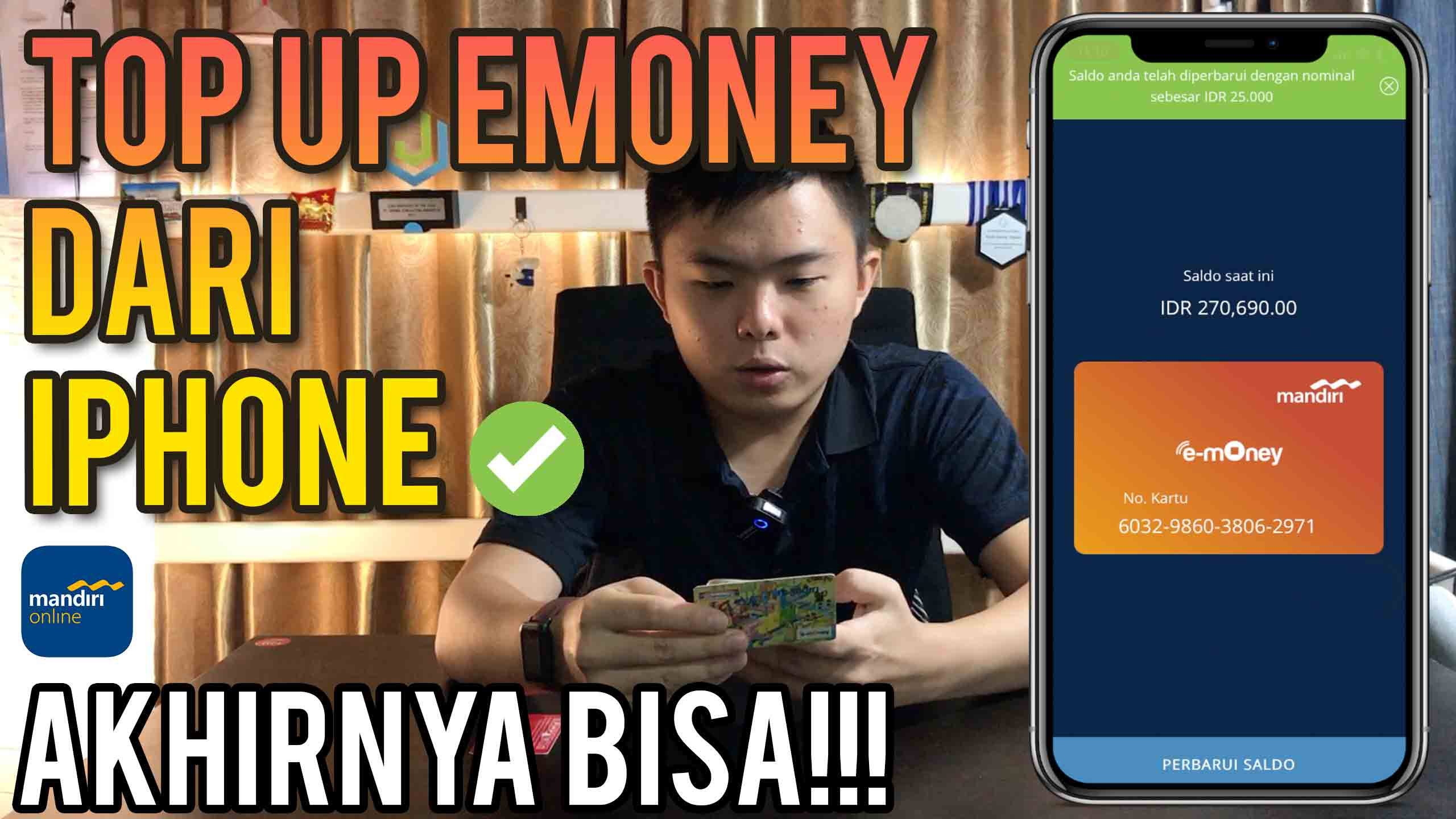 How To Top Up E Money From Iphone Is That Possible 2020 Kevin Kennedy Kie S Blog